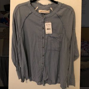 Free People shirt XS new with tags NWT